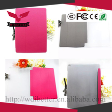 360 Degree Rotation Stand Lychee Leather Case Cover Smart Sleep for Ipad 3 4 2 Rotating Cases Covers Pink