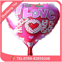 dongguan balloons wholesale wedding decoration love foil balloon