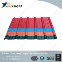 Curved roofing sheet, plastic roof panel