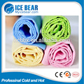 Custom Fashion Elegant Super Absorbent PVA sports cooling towel, PVA Chamois towel