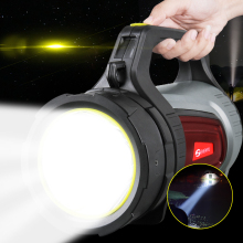 High power marine LED search light high bright portable spotlight rechargeable 10w led searchlight