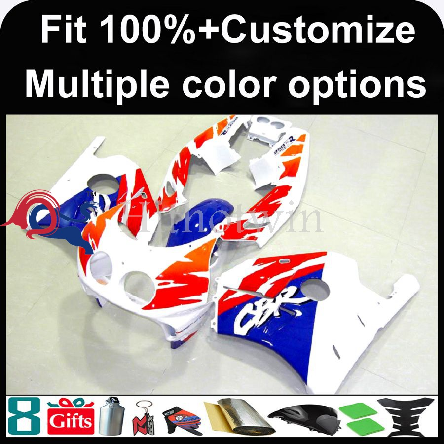 INJECTION MOLDING panels 1991 1992 1993 1994 1995 1996 1997 1998 1999 CBR250RR MC22 Kit Fit red white blue fairing For HONDA CB