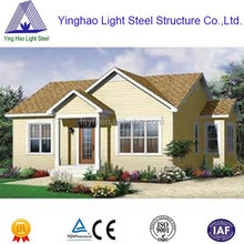 Real Estate prefabricated light steel villa with 2015 design made in Foshan China