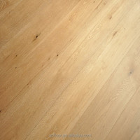 hot selling natural color oak wood floor & plywood with click for wholesales