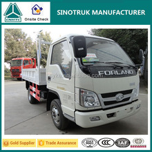 88hp Diesel Engine Foton Forland Light Truck Price with 6.50-16 Tyre for Sale