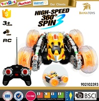 Cool toy car 360 degree rotation electric rc drift car
