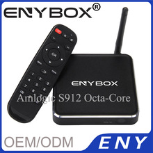 tv box amlogic s912 octacore andriod tv box 4k 2k KODI 16.1 dual band wifi AC smart tv box