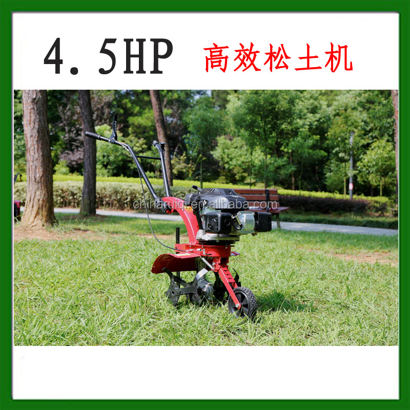 4.5HP gasoline mini tiller cultivator agricultural machinery equipment