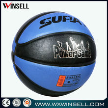 Top seller lowest price custom laminated leather basketballs