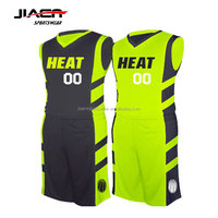 wholesale youth reversible sublimation cheap custom basketball uniform wholesale with best latest basketball jersey design 2018