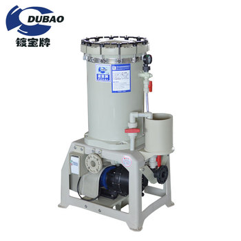 Waste water corrosion resisting pp filter system