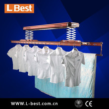 Automatic clothes drying hanger