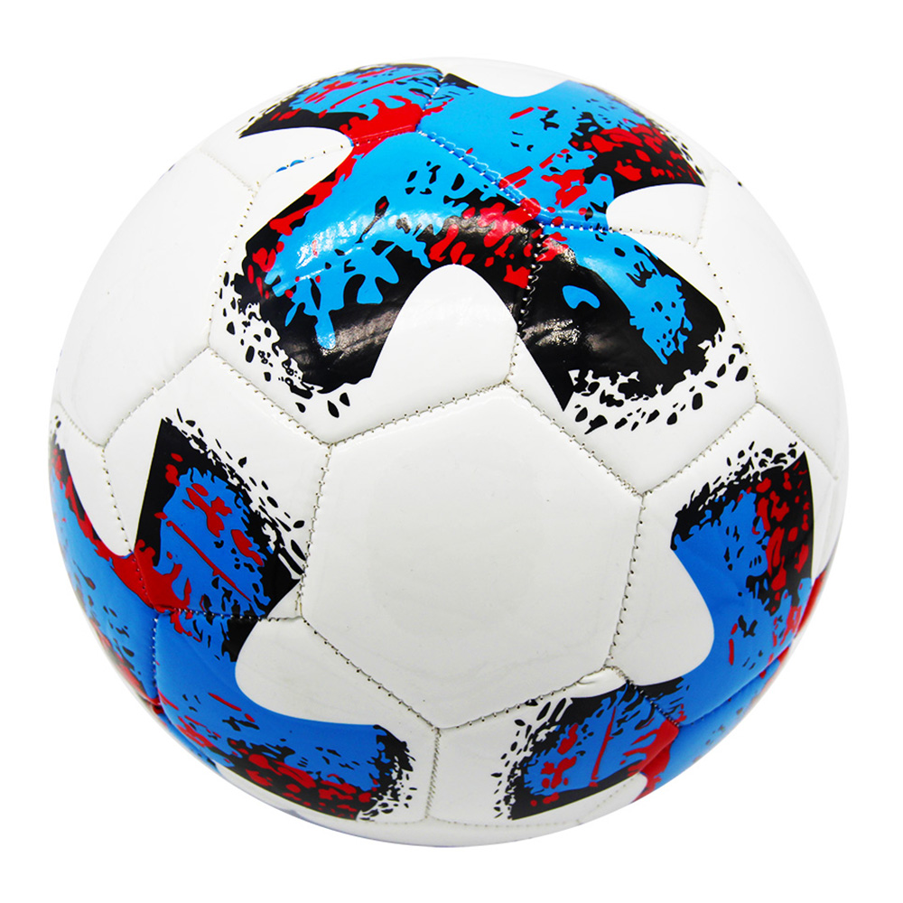 2018 world cup cheap soccer ball with logo official printed pu inflated football training equipment