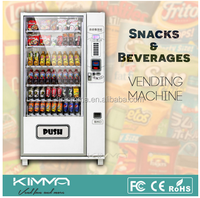 Hot sale ! coin operated soft drink/snack/chocolate/drink vending machine for sale