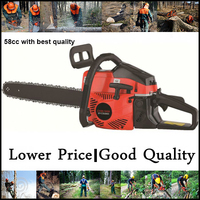 normal sale easy starter 58cc with 20 inch bar best chainsaw