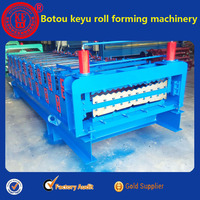 on sale botou double layer metal roof & wall sheet roll forming machine