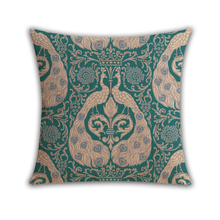 Factory direct sales European retro polka dot custom pillow car sofa decorative fabric throw pillow kilim cushion cover