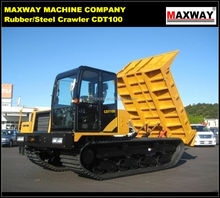 10Ton Customized Hydraulic Tipper for Palm Grove, Rock, Wood, Sand , CE / ISO / SGS , Model: CDT100