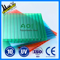 three wall roof covering plastic polycarbonate sheet sun rain canopy