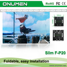 Best Seller low price Outdoor P20mm cheap video led stage curtains for backdrops
