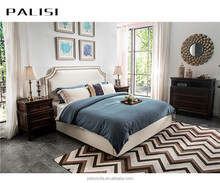 Barlow Style Latest Bedroom Furniture Set Design Modern Upholstered Home Bed(no mattress)