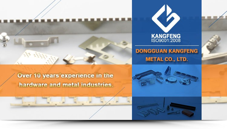 KF custom metal stamped contact parts for battery