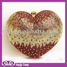 Fashion Jewelled Handbag and Wallet with Crystal Rhinestone