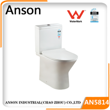 Rimless Watermark toilet CE WELS Back to wall, New design sanitaryware fatory