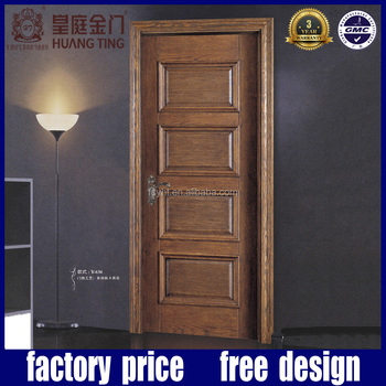 MDF interior cheap sliding closet doors teak wood door design
