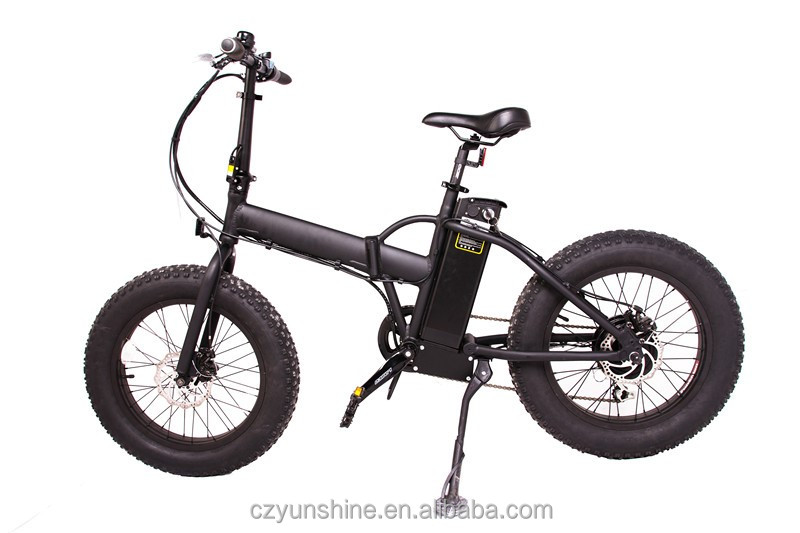 City road fat tire electric folding bike bicycle