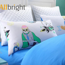 ALLBRIGHT creative design materiale textile quilted bedspreads baby pillow set