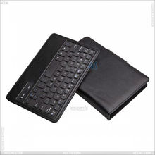 Hot selling English Amazon detachable abs wireless bluetooth keyboard pu leather case for Samsung Galaxy Tab 3 7 P3200