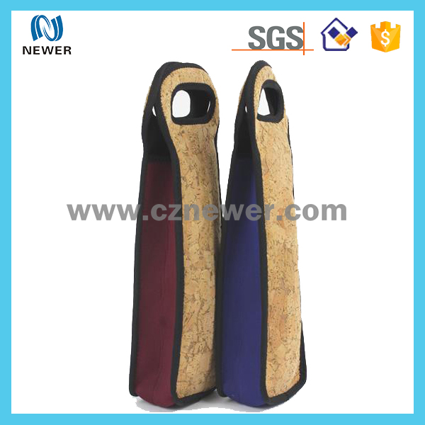 Factory Price No Smell Neoprene Single Wine Tote Wine Bottle Cooler Holder