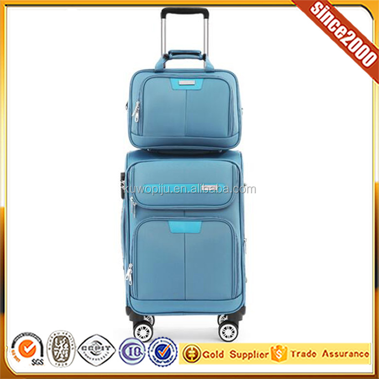 1680D fiber 4 pc pull handle private label luggage organizer for suitcase