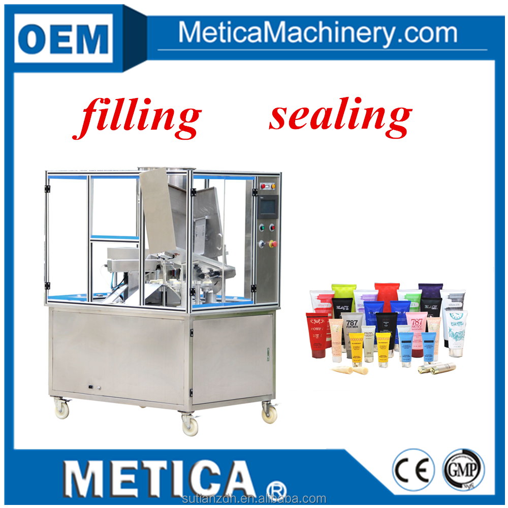 MTGF-20 Shanghai Automatic Ultrasonic Cosmetic Soft Tube Filling Sealing Machine