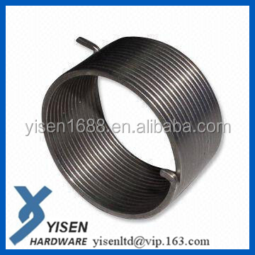 Flat metal torsion volute springs or stainless steel coil spiral springs