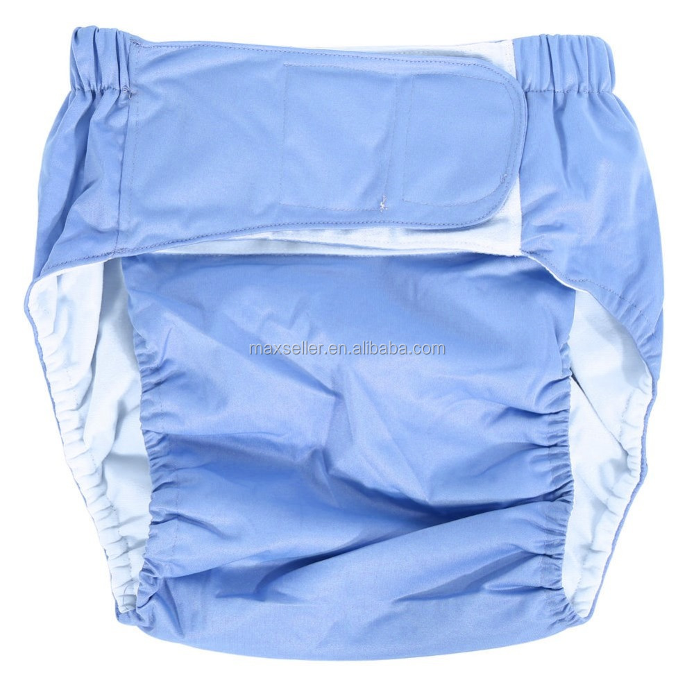 Washable Adjustable Teen/Adult Cloth Diaper for Bedwetting Incontinence