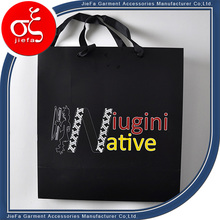 Fancy Design Thickness ECO Paper Custom Shopping Bag with Recycle