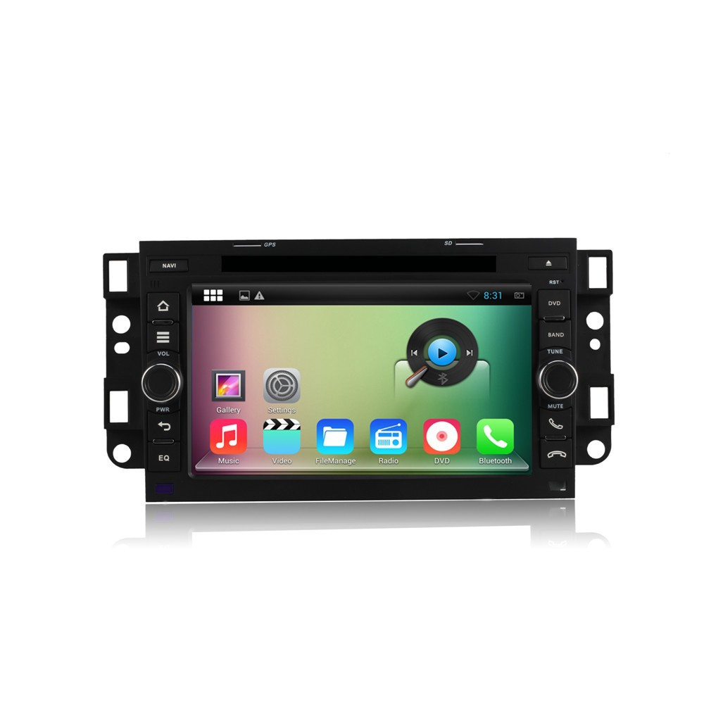 "2015 new A9 dual core 7"" Android 4.4 Car DVD for Chevrolet Aveo/Epica/Lova/Captiva/Spark/Optra with Capacitive touch Screen"