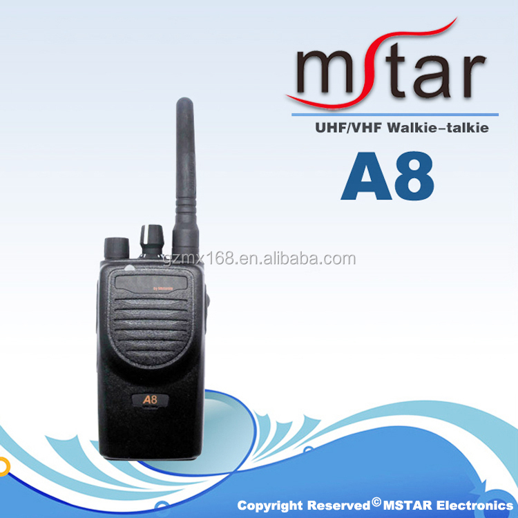 Hot sale UHF VHF 16CH Ham Two Way Radio Magone A8