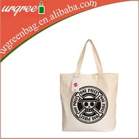 One Piece Logo Canvas Shopping Bag For Boys