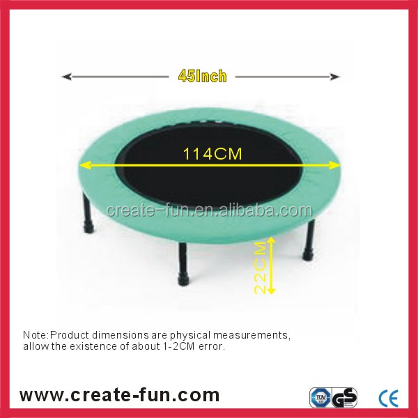 "45"" Shenzhen factory Createfun Brand buncer mini tramp"
