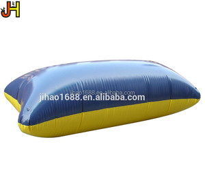 inflatable blob for lake, inflatable blob launcher, inflatable water catapult blob