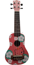 Hot Sale 21Inch Imaged Wholesale Ukulele Kits