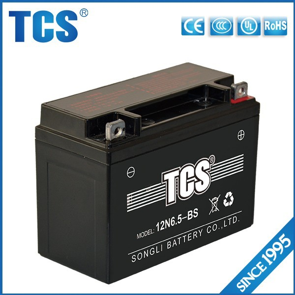 12v battery SMF motorcycle battery 12V6ah rechargeable battery