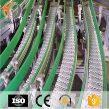 beverage&wine machine conveyor modular plastic belts conveying equipment flexible transmissionn chains magnetic curves belting