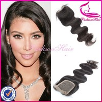 New arrival lace front clsure 100% virgin hair closure 14inch wholesale cheap human hair lace closure
