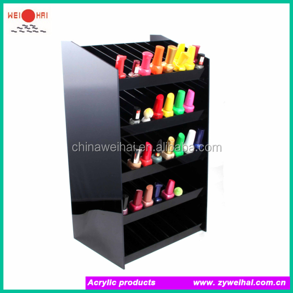 tear shape acrylic display stand water drop shape nail polish display