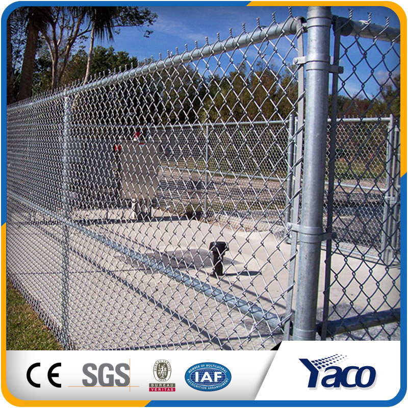 Wholesale chain link fence, fence panels(13 years)