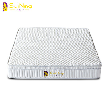 Chinese kevlar bed 25cm sore pocket spring bed mattress india A1039-C